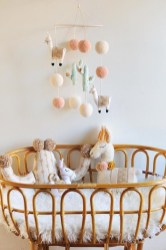 Unique baby boy nursery room with animal design 14