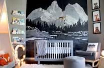 Unique baby boy nursery room with animal design 21