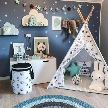 Unique baby boy nursery room with animal design 22