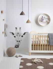 Unique baby boy nursery room with animal design 25