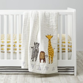 Unique baby boy nursery room with animal design 32