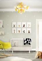Unique baby boy nursery room with animal design 33