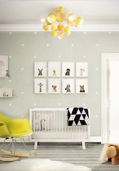 Unique baby boy nursery room with animal design 33