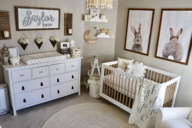 Unique baby boy nursery room with animal design 39