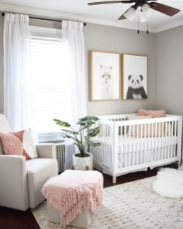 Unique baby boy nursery room with animal design 41