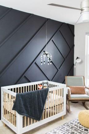 Unique baby boy nursery room with animal design 42
