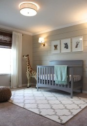 Unique baby boy nursery room with animal design 55