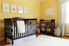 Unique baby boy nursery room with animal design 61