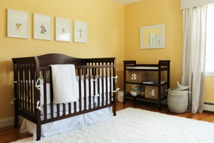 Unique baby boy nursery room with animal design 61