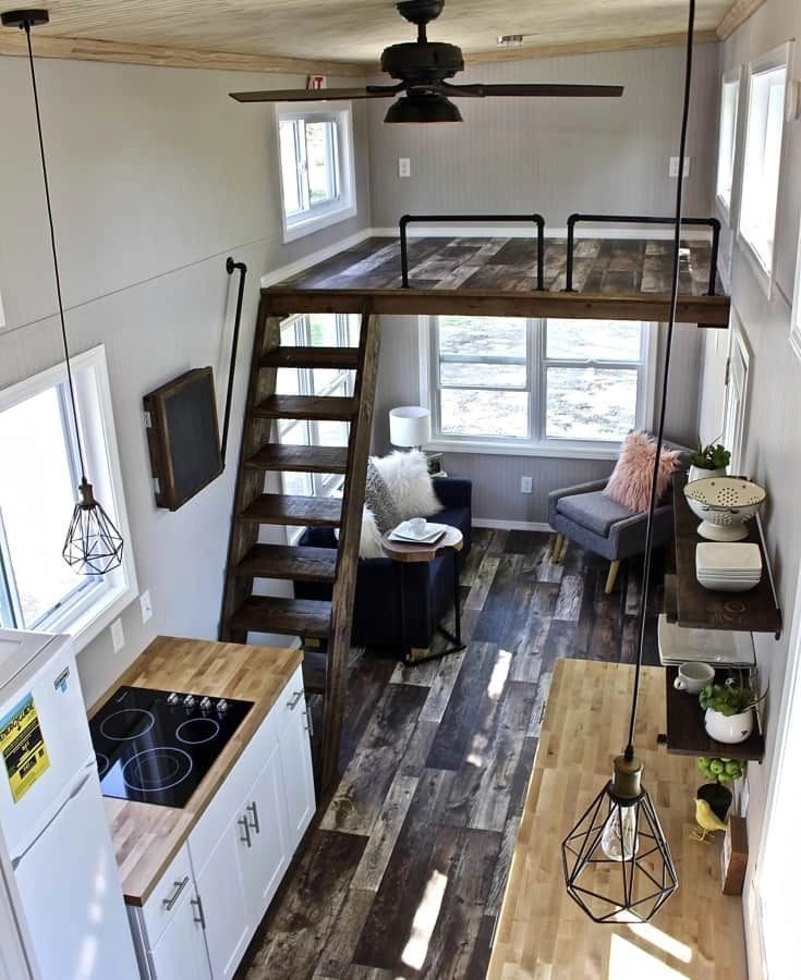10 Small House Interior Design Solutions: 49 Cool Tiny House Design Ideas To Inspire You