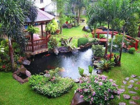 Creative ideas for a better backyard 48