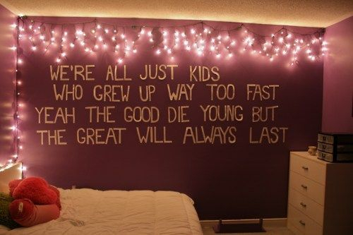 Easy and awesome wall light ideas for teens 23