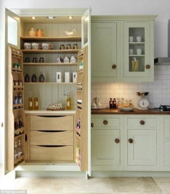 Kitchen pantry ideas with form and function 08