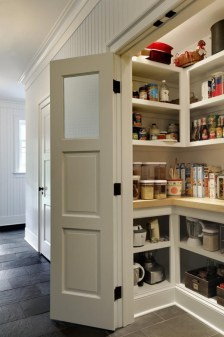 Kitchen pantry ideas with form and function 10