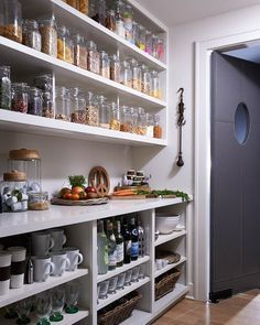 Kitchen pantry ideas with form and function 13