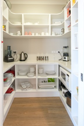 Kitchen pantry ideas with form and function 17