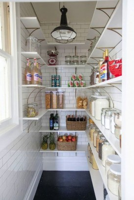 Kitchen pantry ideas with form and function 18