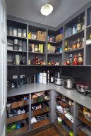 Kitchen pantry ideas with form and function 22
