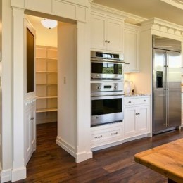 Kitchen pantry ideas with form and function 23