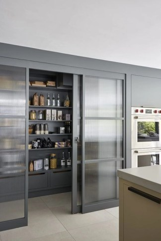 Kitchen pantry ideas with form and function 25
