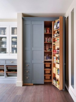Kitchen pantry ideas with form and function 32