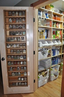 Kitchen pantry ideas with form and function 45