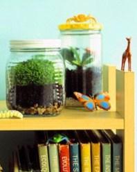 Simple ideas for adorable terrariums 49