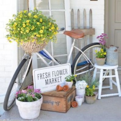 Spring decor ideas for your front porch 11