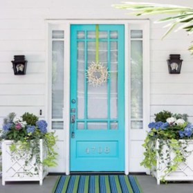 Spring decor ideas for your front porch 27