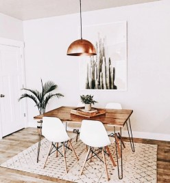 Stunning ways to re-decorate your dining room 05