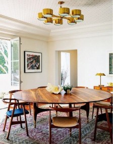 Stunning ways to re-decorate your dining room 09