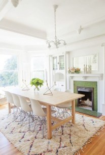 Stunning ways to re-decorate your dining room 19