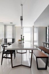 Stunning ways to re-decorate your dining room 22