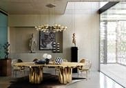 Stunning ways to re-decorate your dining room 39