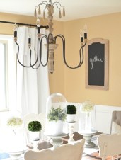 Stunning ways to re-decorate your dining room 41
