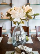 Stunning ways to re-decorate your dining room 47