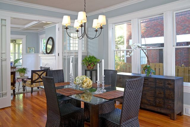 Stunning ways to re-decorate your dining room 49