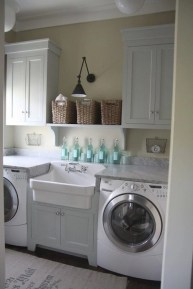 Beautiful and functional laundry room design ideas to try 02