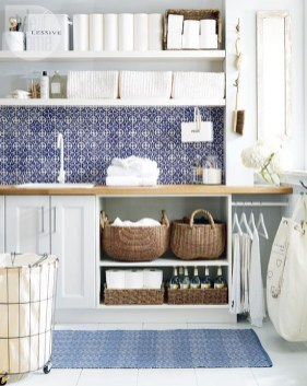 Beautiful and functional laundry room design ideas to try 14