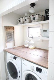 Beautiful and functional laundry room design ideas to try 48