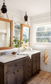 Best bathroom mirror ideas to reflect your style 21