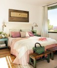 Fascinating bedroom ideas with beautiful decorating concepts 50