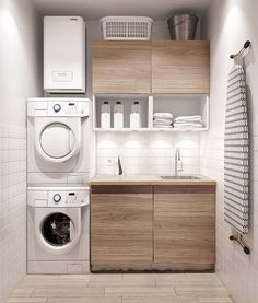 Laundry room design ideas that will maximize your small space 31