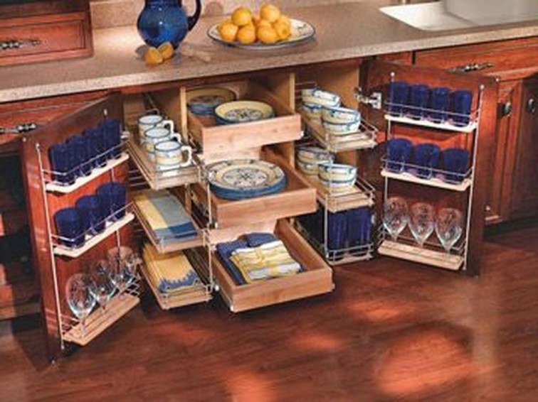 Smart diy kitchen storage ideas to keep everything in order 33