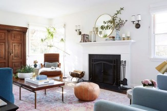 Beautiful fireplace decorating ideas to copy for your own 02