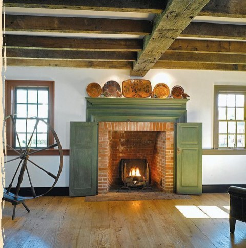 Beautiful fireplace decorating ideas to copy for your own 14