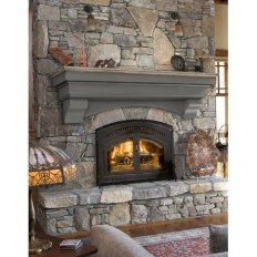 Beautiful fireplace decorating ideas to copy for your own 26