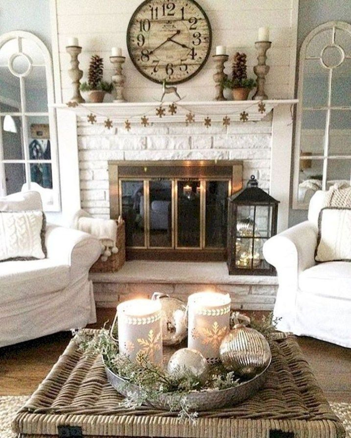 Beautiful fireplace decorating ideas to copy for your own 31