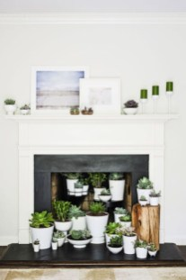 Beautiful fireplace decorating ideas to copy for your own 37