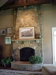 Beautiful fireplace decorating ideas to copy for your own 47